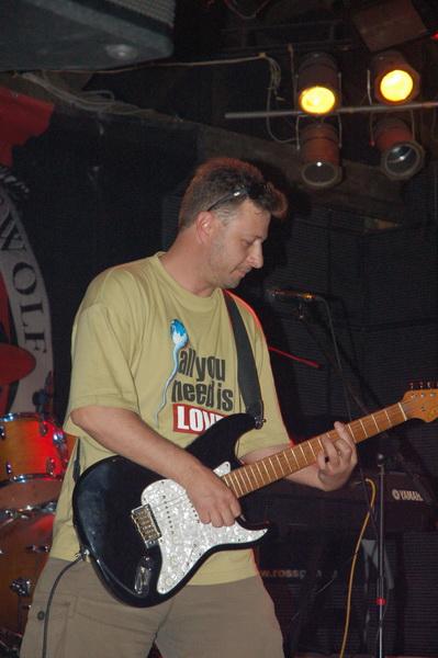 Алексей Сафронов, гитарист группы НАТЕ